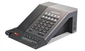Teléfono Teledex M, de Cetis, con bluetooth, puerto USB de carga, y punto de acceso wifi