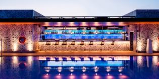 La espectacular terraza del hotel Catalonia Barcelona Plaza