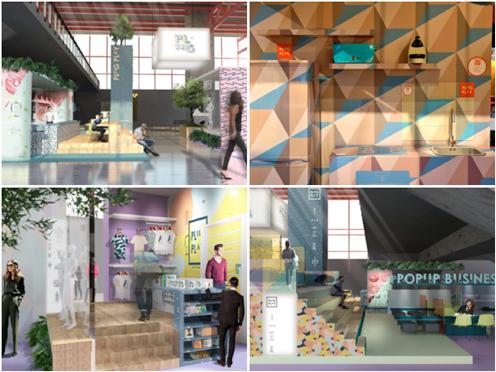 La zona Plug&Play reproducirá diferentes establecimientos que mostrarán lo último en interiorismo