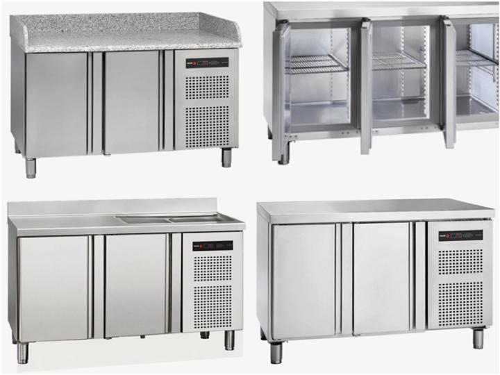 Mesas refrigeradas Neo de Fagor Industrial