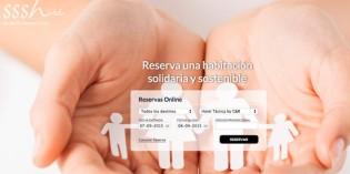 Nace un portal de reservas hoteleras solidario y sostenible