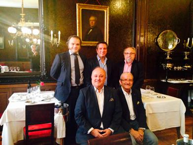 Los fundadores de la Academia de la Tapa de Madrid