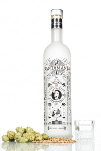 Vodka de cerveza Santamanía