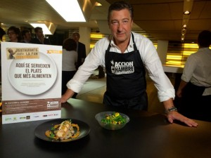 Joan Roca, padrino de Restaurantes contra el Hambre