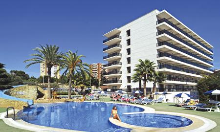 El hotel RH Corona del Mar, en Benidorm