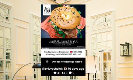 Pantalla de Yarr TV en Hotel Only You