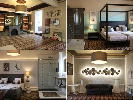 Diferentes interiores de hotel que se recrean en WEcontract BCN