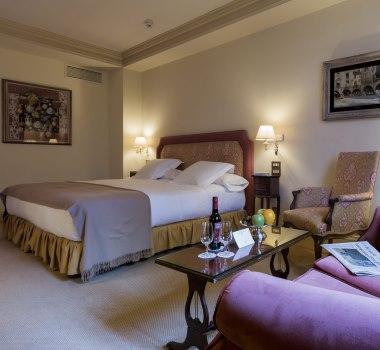 Habitación del hotel Orfila