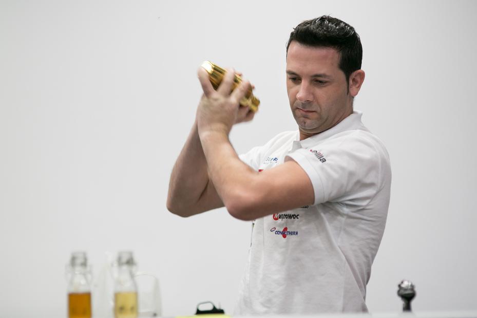 Óscar Quintana, finalista de Camarero del Año