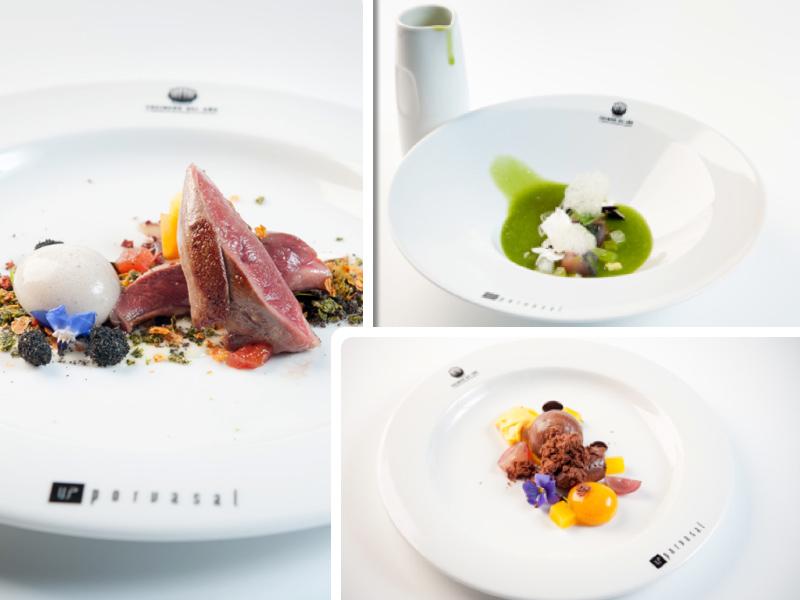 Los platos de Rubén Osorio