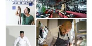 Chefs en movimiento: lo nuevo de Carles Abellán, Jorge Reina, Pepe Solla y Luis Arévalo