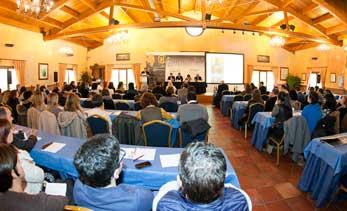Participantes del Foro de Turismo Enogastronómico de Rioja Alavesa