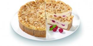 De queso, con frambuesa y granola: la Tarta del Año de Erlenbacher