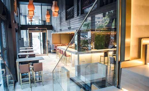 El nuevo look, mucho más actual pero de aire oriental, de Café Saigón