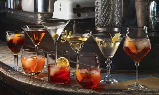 La colección de copas y vasos Sesión Vermut, de DKristal