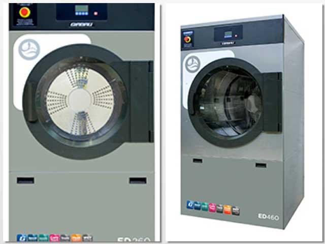 Las secadoras ED permiten reducir sustancialmente el tiempo del ciclo de secado