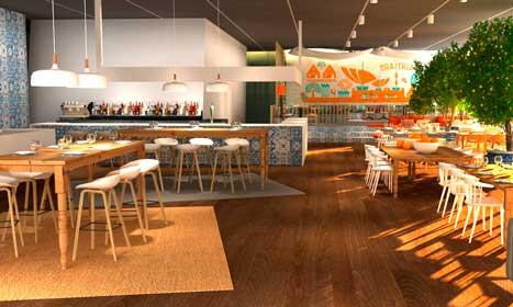 Así será el restaurante de cocina mediterránea con el que contará el complejo