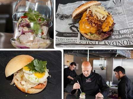 Platillos y chefs en Nómada Emotion Street Food