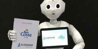 """El Grupo Costa """"ficha"""" a robots humanoides como asistentes en sus cruceros"""