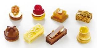 Alta pastelería mini para cócteles, restaurantes y banquetes