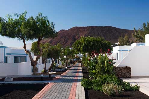 El futuro Elba Lanzarote Royal Village Resort mantendrá la arquitectura típica isleña