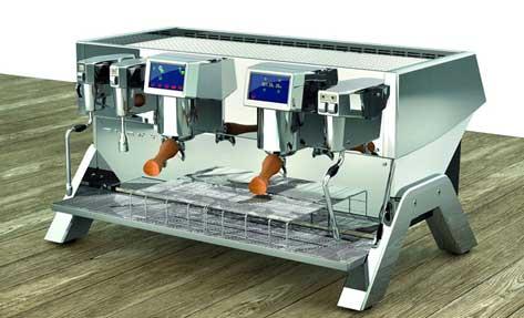 El elegante diseño de la máquina de café Elextra Indie