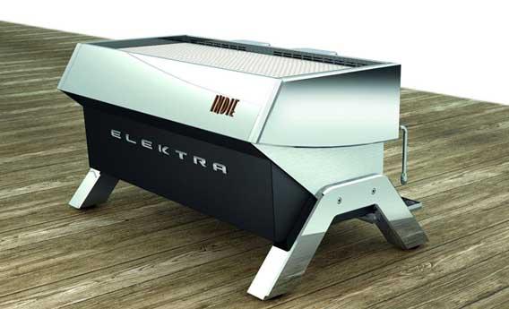 De exquisitas líneas, Elektra Indie no dispone de caldera para el agua