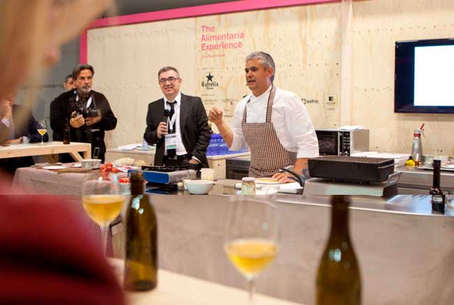 The Alimentaria Experience volverá a acoger numerosas demostraciones gastronómicas