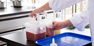 Dispensador de salsas y grifo para líquidos