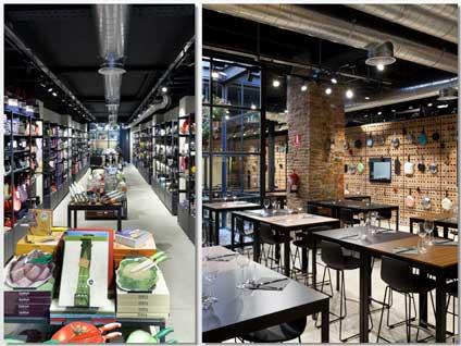 restaurante tienda tres ejemplos de un concepto en auge