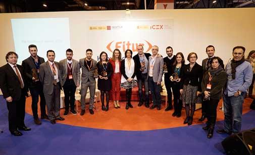Los ganadores del concurso de apps en Fitur