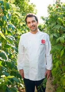 El chef Javier Olleros
