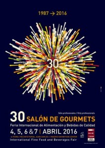 Cartel del Salón de Gourmets 2016