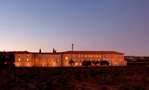 Vista exterior del El hotel Abadía Retuerta Le Domaine
