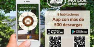 La Moncloa de San Lázaro, un hotel rural con app móvil