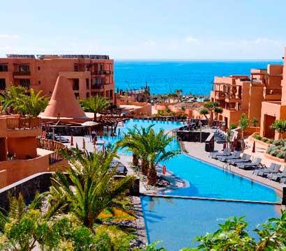 Exterior del hotel Sandos San Blas Nature Resort & Golf en Adeje, Tenerife