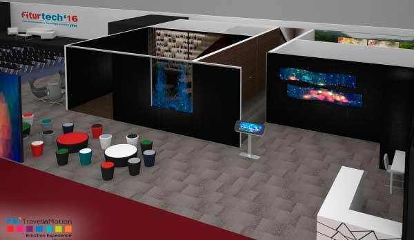 En Fiturtech se recreará un hotel futurista de 2.000 m2