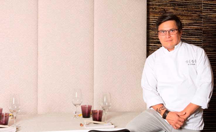Luis Arévalo, en el nuevo Kena