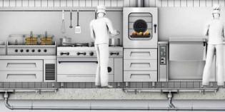 Cómo solucionar los problemas de drenaje de agua y grasas en las cocinas industriales