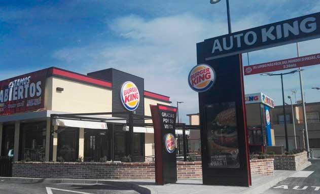 Nuevo restaurante Burger King en El Egido (Almería)