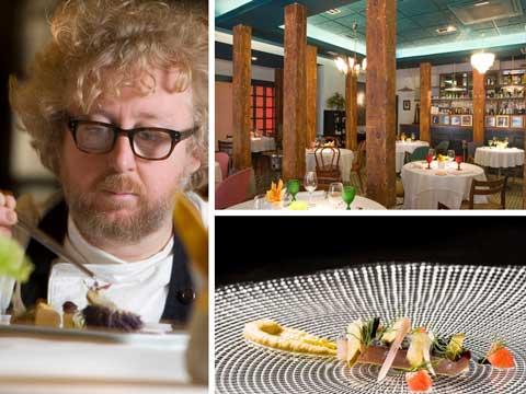 Luca Rodi, la sala de Dabbawala y uno de los nuevos platos del chef