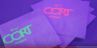 Servilletas fluorescentes