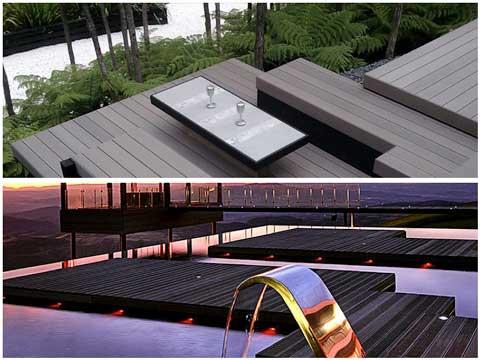 Tarimas Compsite Deck en terrazas