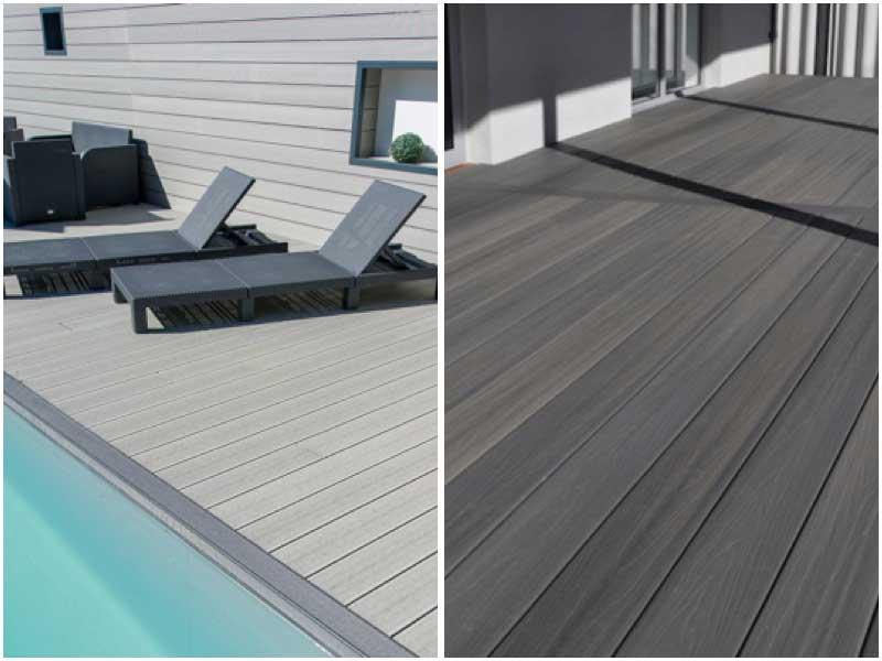 Tarima Composite Deck en varios colores