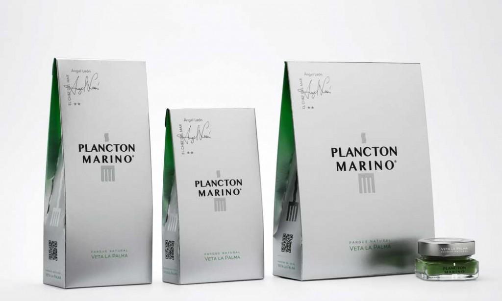 Los diferentes formatos en los que se vende el plancton marino Veta la Palma