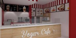 Yogur Café, nueva franquicia que combina yogur helado y cafetería