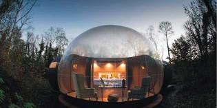 Dormir en una burbuja: una nueva experiencia hotelera