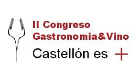 Logo del II Congreso Gastronomía & Vino de Castellón