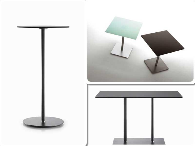 Diferentes versiones de la mesa Planc