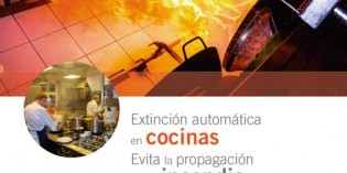 Lo que hay que saber sobre la extinción automática de incendios en cocinas industriales